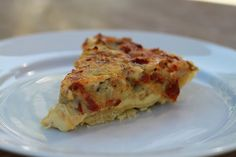 Sun-dried tomatoe and Artichoke Quiche - wheat free Quiche Recipes, Happy Foods, Good Food, Fun Food, Dried Tomatoes, Entrees, Sun Dried, Artichoke, Brunch