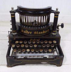 "Vintage ~ c1900 ~ ""Salter Standard Improved No.6"" - Typewriter"