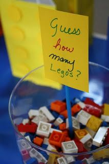 Silly Happy Sweet: Lego Birthday Party Ideas                                                                                                                                                                                 More