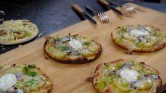 Potatispizza fungerar utmärkt som nattmat