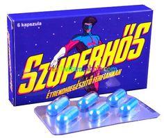 Szuperhős 6 db kapszula Férfiaknak, potencianövelő, vágyfokozó hatású Candy, Sweets, Candy Bars, Chocolates