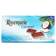 Rosemarie Coconut Chocolate Bar, Schmerling's of Switzerland Chocolate, Jerusalem, Israel.