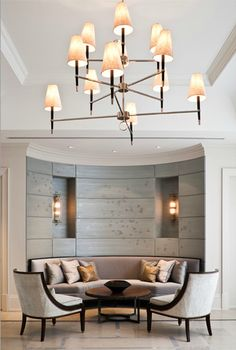 Dining Room - Exquisite in every detail!  (re-pinned photo from B. Gluckstein)