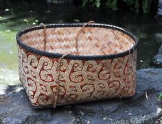 bamboo basket West Kalimantan