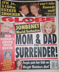 Fergie - Globe tabloid Oct 5, 1999