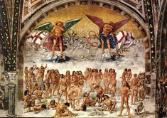 signorelli - Resurrection of the Flesh. 1499-1502. Fresco. Chapel of San Brizio, Duomo, Orvieto, Italy.