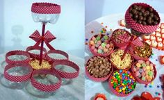 🔥Porta Doces Ideias para Festa Junina - / 🔥Door ideas Sweets for June Festival - Diy Birthday, Birthday Parties, Christmas Home, Christmas Crafts, Plastic Bottle Crafts, Plastic Bottles, Navidad Diy, Baby Party, Birthday Decorations