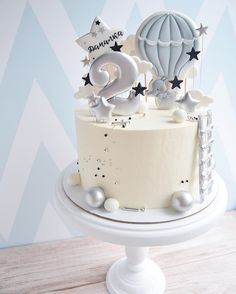Baby First Birthday Cake, Birthday Cakes For Men, Baby Boy Cakes, Baby Shower Cakes, Best Birthday Cake Designs, Birthday Cake Decorating, Dessert Decoration, Occasion Cakes, Sweet Cakes