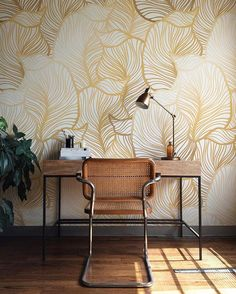 Transform your plain walls into a painterly masterpiece with our romantic, selfadhesive wallpaper. This lovely wallpaper is perfect for any … Room Wallpaper, Leaves Wallpaper, Grey Wallpaper, Adhesive Wallpaper, Modern Wallpaper, Geometric Wallpaper, Discount Bedroom Furniture, Easy Install, Wall Murals