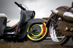 Mopeds, Vespa, Motorcycle, Bike, Random, Vehicles, Awesome, Nostalgia, Wasp