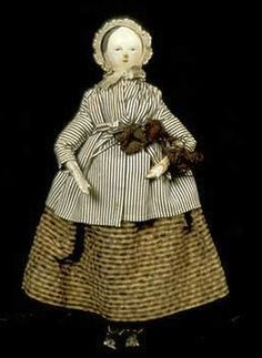 Doll (Yorkshire Dales Knitter) 1830-1840.