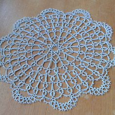 It's ready now but there are two mistakes :-( Needle Tatting, Tatting Lace, Doilies, Tatting Patterns, Lace Making, Instagram Posts, Handmade Crafts, Finland, Mistakes