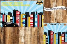 Digital Batman Birthday Party Invitation, Batman Birthday Party Invitation, Invitation, Batman Invitation, Batman Birthday Party Invitation by AbushelandapecCrafts on Etsy