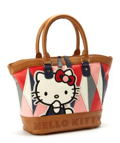 HK |❣| HELLO KITTY Loungefly Geo Tote