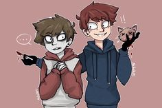 'Look what I found!' - Toby and Jack by Akito0405.deviantart.com on @DeviantArt