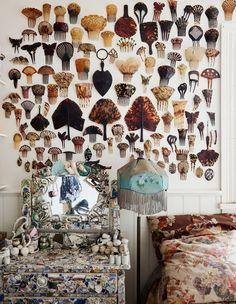 Best of Australian Homes 2014 · Greg Irvine - The Design Files Horror Vacui, Interior And Exterior, Interior Design, Interior Ideas, Cabinet Of Curiosities, The Design Files, Australian Homes, Displaying Collections, Decoration