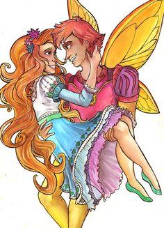 Thumbelina | Thumbelina and Cornelius by Dykah