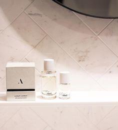 our sensual amber fragrance sitting pretty | 50ML + 15ML #cobaltamber #shelfie 📸: @inside.amsterdam inside.amsterdam