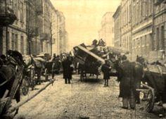 Krakow, Poland, Deportation of Jews to the ghetto.