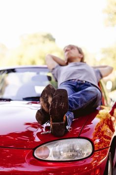 senior guy pics with car - Google Search