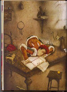 """иллюстратор Wladimir Dowgialo """"Слуга 2х господ""""(первая часть) - Детская Книга"""