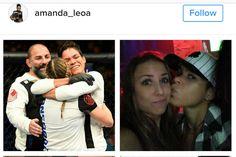Amanda Nunes celebra aniversário de namoro com Nina Ansaroff - http://anoticiadodia.com/amanda-nunes-celebra-aniversario-de-namoro-com-nina-ansaroff/