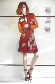 MRS. RAKE magazine editorial model: Angelika of MMG Models hair&makeup: Jojo Dantespadua photographer: Ethan Mann fashion director: Esther Quek copyright APP IMAGE