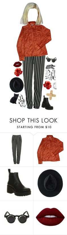 """This is Halloween- Marilyn Manson"" by xluvaii ❤ liked on Polyvore featuring Glamorous, Vagabond, Ryan Roche and Lime Crime"