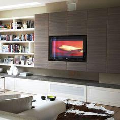 TV wandpaneel ideen