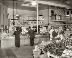 Old Dutch Market in Washington circa 1920.