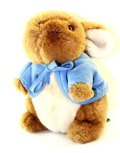 Eden Peter Rabbit Plush-I soo had one of these as a child. @Colleen McFarland  :o)