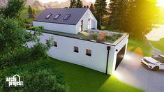 Projekt rodinného domu s názvom Castello, je dvojpodlažný dom s celkovou úžitkovou plochou 144,80 m². Dom ponúka na prízemí dostatok priestoru pre obývaciu izbu a kuchyňu s jedálenskou časťou, izbu, samostatné odvetrané WC a kúpeľňu, sklad potravín, garáž a skladovaciu miestnosť. Chodby sú navrhnuté s ohľadom pre úložný priestor typu roldor. Z obývacej izby je schodiskom sprístupnené poschodie, ktoré ponúka okrem malej kúpeľne spálňu a veľkú izbu s panoramatickým oknom a prístupom na terasu. Outdoor Decor, House, Home Decor, Decoration Home, Home, Room Decor, Home Interior Design, Homes, Houses