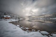 Anfang November ist Schnee keine Seltenheit in unserem Gebiet