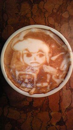 Link (The Legend of Zelda) latte art