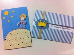 convite infantil pequeno principe