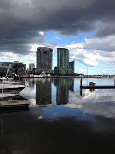 Docklands buildings