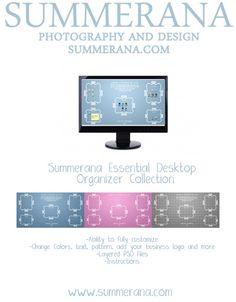 Summerana Essential Desktop Organizer Collection by Summerana, $30.00