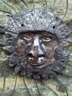 Photo - GooglePhotos Lion Sculpture, Wreaths, Statue, Halloween, Google, Photos, Art, Picasa, Art Background