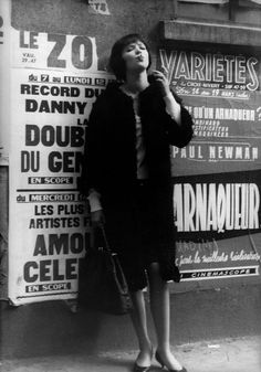 VIVRE SA VIE Anna Karina dans le classique de Jean-Luc Godard, 1962