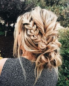 Gorgeous braid and hair color!