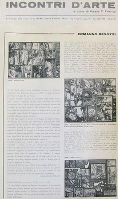 1966 Incontri d'arte rivista