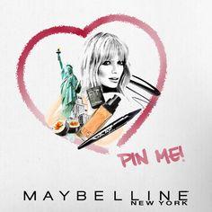 ¡You love MNY, we love you! Participa por un set Maybelline New York haciendo repin a esta imagen.