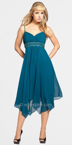 Teal dress by Decode 1.8