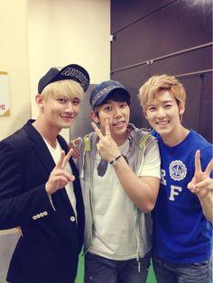 Kevin, Hoon & AJ