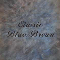 Specialty Backdrop - Classic Blue/Brown - Great for Senior Portraits!