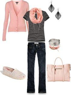 pops of pink
