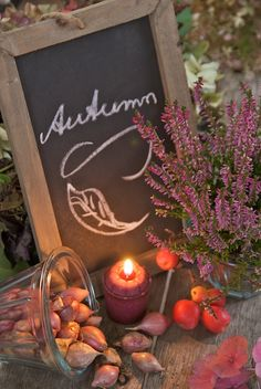 Les couleurs de l'automne                                                       … Autumn Fall, Hello Autumn, Autumn Cozy, Autumn Leaves, Autumn Garden, Autumn Decorations, Fall Decor, Autumn Pictures, Fall Chalkboard