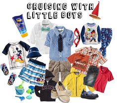 Cruising with little boys - fashions @My Dream Family Cruise Vacation on Norwegian