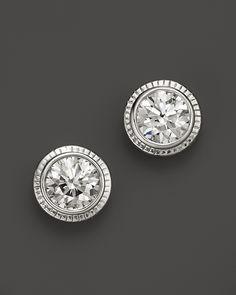 Diamond Bezel Studs (1.50 ct. t.w.)