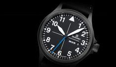 DA 38 black - Classic three-hand models - Three-hand models - Models   Watch-Manufacture Damasko